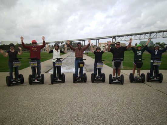 SegCity Guided Segway Tours: No hands required
