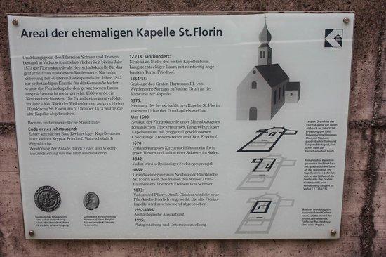 Liechtenstein Center: cappella St.Florin