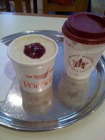 Pret a Manger: Perfect porridge