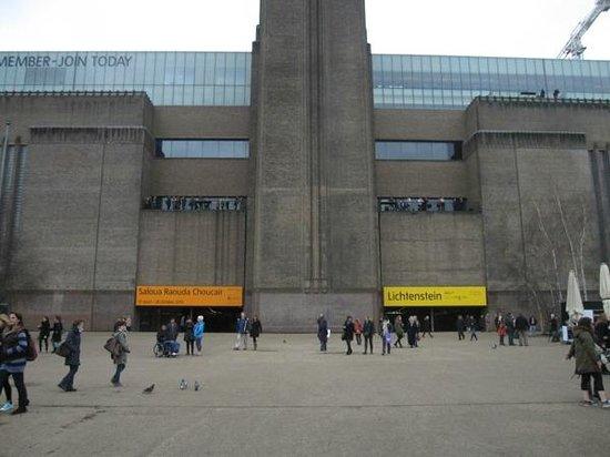 Tate Modern : l'esterno della tate