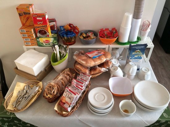 B&B Lost in Rome: Breakfast