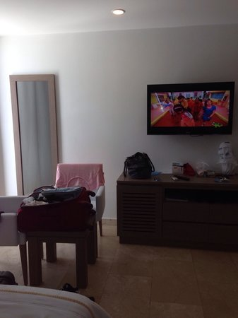 Hotel Casablanca: Quarto twin beds , amplo, Hotel Casa Blanca