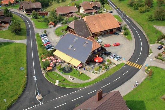 Muhledorf, Schweiz: Gemuetlicher Landgasthof mit Spielplatz