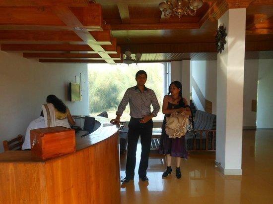 Jungle Park Resort: Reception area