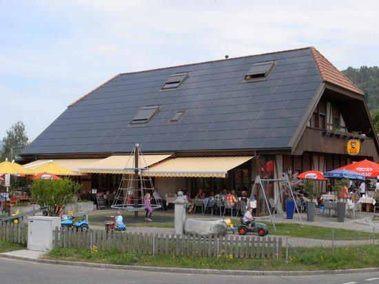 Muhledorf, Schweiz: Sonnenkraftwerk in Muehledorf 175.764223m2 Glasfläche