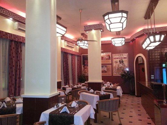 Luxor Bar & Grill : New ArtDeco look Dinner Retro Restaurant