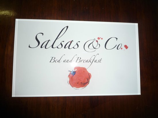 Salsas and Co: Sign