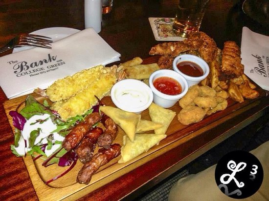 The Bank on College Green: The Bank's Platter