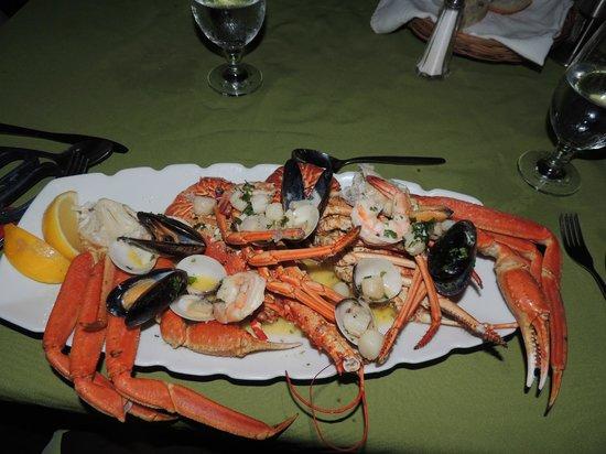 Rock Lobster : Seafood platter