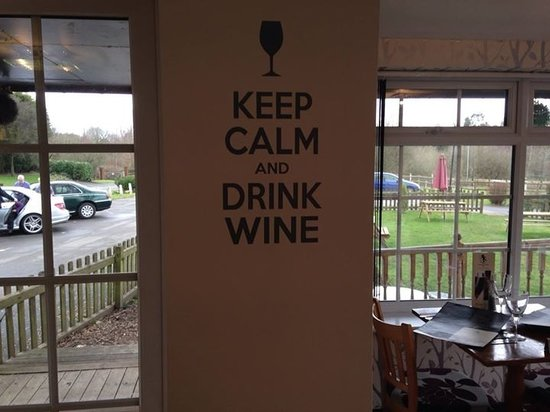 The Warwickshire Lad: Definitely keep calm and drink wine