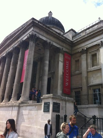 Galería Nacional: Trafalgar Square and the National Gallery