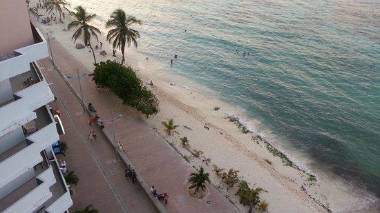 Hotel Calypso: Playa