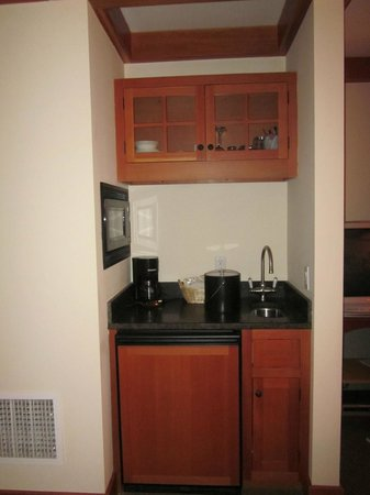 Trapp Family Lodge: Kitchenette in one of the bedrooms