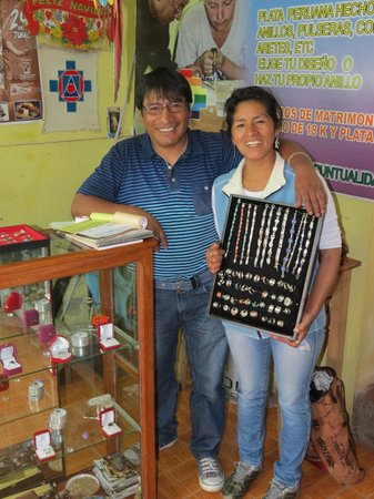 Artesanias Juanita: A warm welcome from the owners