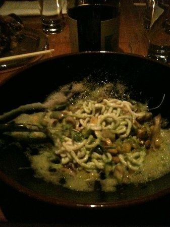 "Kittichai : house made cod ""noodles"""