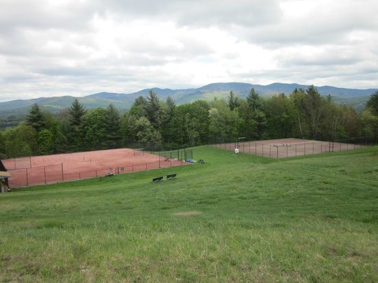 Trapp Family Lodge: Tennis Courts