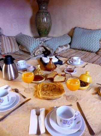 Riad Mazal : colazione