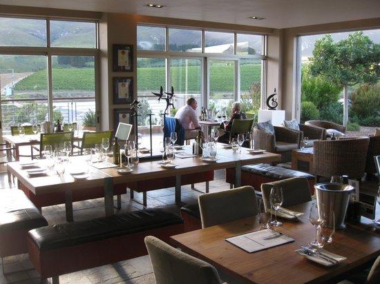 Creation Wines: the restaurant interior