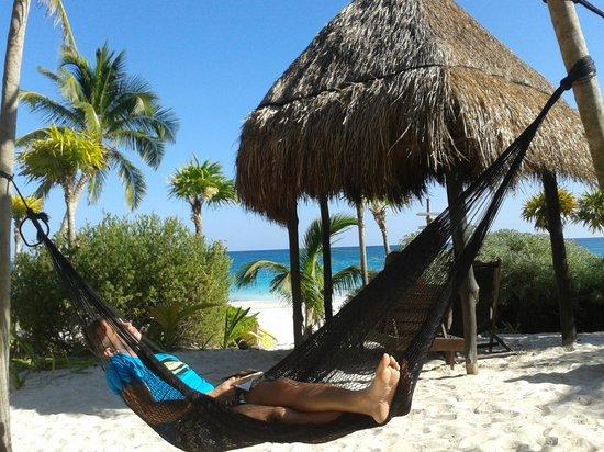 Playa Esperanza: hamac