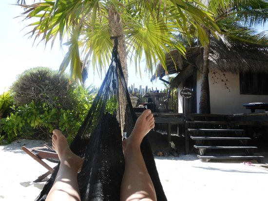 Playa Esperanza: our cabana