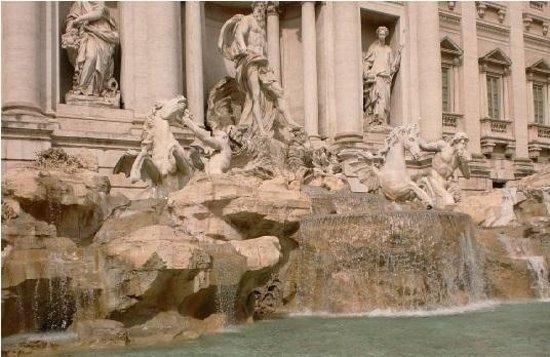 Trevi-Brunnen (Fontana di Trevi): Bela!