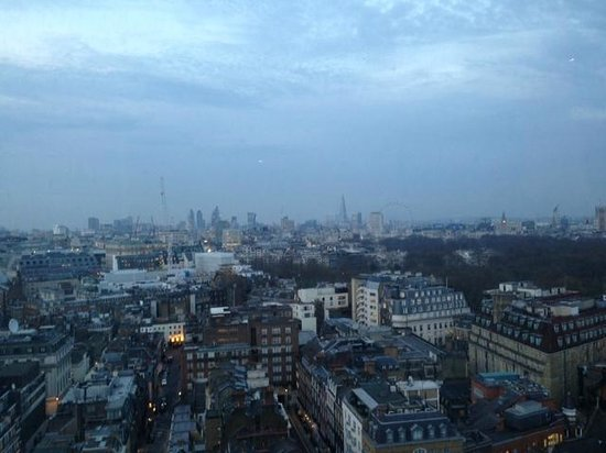 London Hilton on Park Lane : Awesome view from about half way up the tower