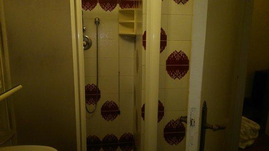 Hotel Ritz: Box doccia presente solo in qualche stanza tra quelle viste..