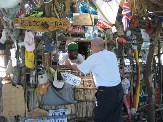 Floyd's Pelican Bar: leave an item or two