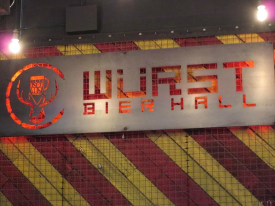 Wurst Bier Hall: Wurst in Fargo.