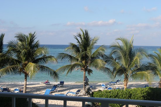 Wyndham Reef Resort: View from a second floor room
