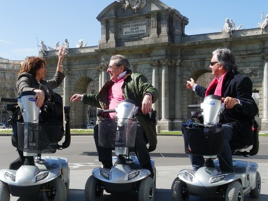 Accessible Madrid_Mobility Scooters Tours & Rentals