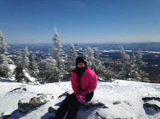 Smugglers' Notch Resort: Beautiful View into New Hampshire & Canada from the top of Madonna Mountain