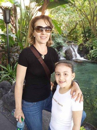 Disney's Polynesian Village Resort: Meninas no Polynesian
