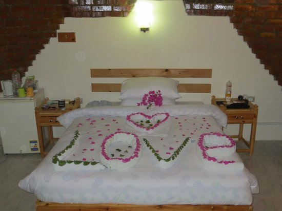 Divers House Hotel: One of Ali's towel creations