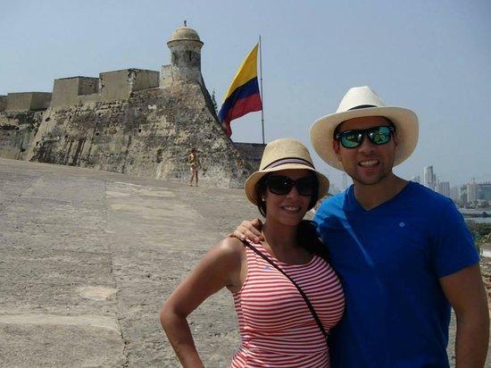 Château de San Felipe de Barajas : Polo garcia en Cartagena