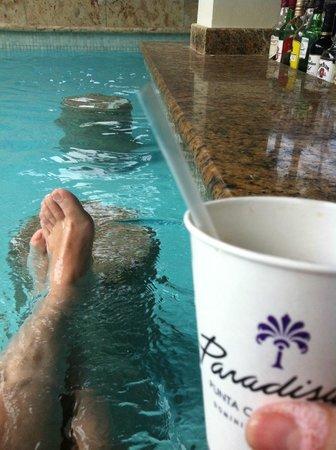 Paradisus Punta Cana Resort: Me pone otro ron por favor?