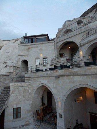 Vezir Cave Suites: fachada hotel