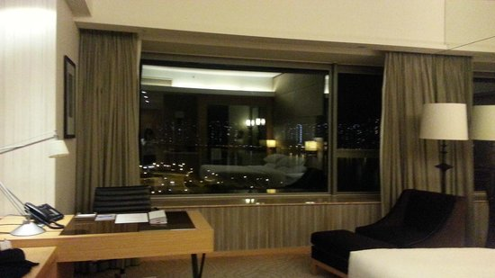Hyatt Regency Hong Kong Sha Tin : Window with a view