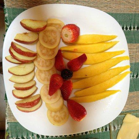 Yolitia: desayuno