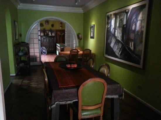 Casa Moro: Zona de desayunador y comedor