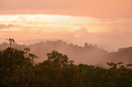 TikiVillas Rainforest Lodge & Spa: sunrise