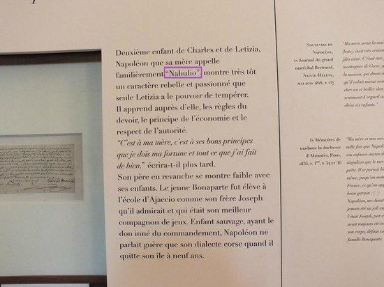 Maison Bonaparte: Lui disse che la mamma lo chiamava Nabuliò