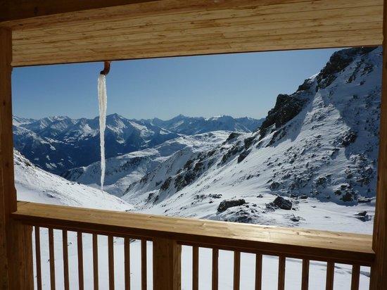 Zimmerblick, Wedelhütte