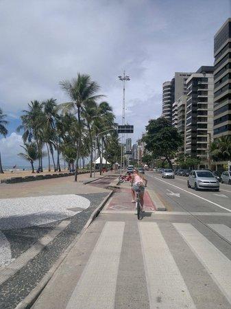 Ciclofaixa: Ciclovia Recife - Boa Viagem