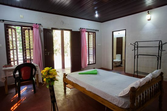 Marari Secret Beach Yoga Homestay: Bedroom