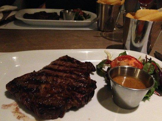 The Boat House at Cameron House: Steak Main Course