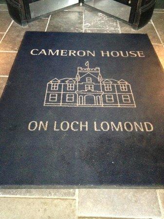 Cameron House on Loch Lomond : Entrance