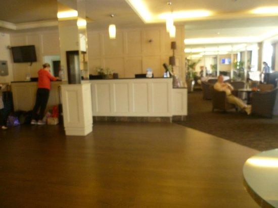 Grand Canal Hotel: Recepción