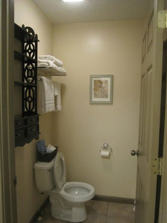 St. George Inn: Bathroom