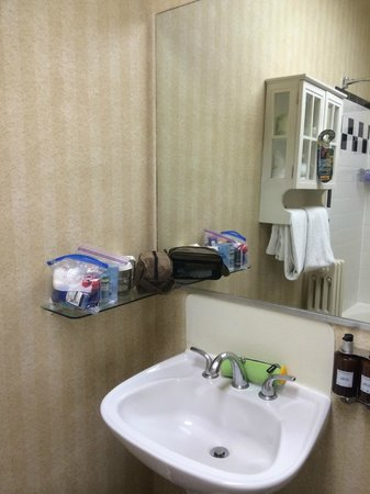 City Suites Hotel : Bathroom